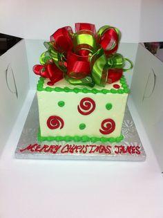 Society Bakery Christmas Cakes!