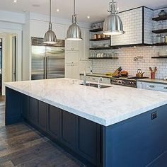 Concealed Kitchen Hood, Contemporary, kitchen, Peter A Seller