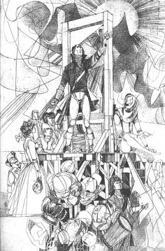 János Kass – The Tragedy of Man, 1980 White Pen, Black And White, Artist Pens, Printmaking, Illustrators, Graphic Design, Drawings, Designers, Paintings