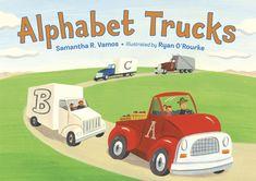 """Alphabet Trucks"" (2013) is part of an alphabet transportation series with ""Alphabet Trains"" (August 2015) and ""Alphabet Boats"" (2017)."