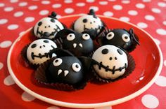 Chica Perika: Cake-pops y cake-bites para Halloween | Recetas | Costura | Manualidades | Tutoriales