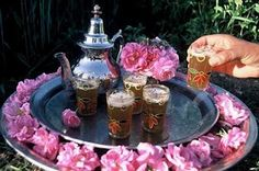Idea to serve mint tea