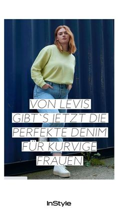 Jeans Trend: Diese Levi's Denim steht kurvigen Frauen wunderbar! #instyle #instylegermany #mode #modetrend #jeans #jeanstrend #levis #levistrend #denim #denimtrend #jeanshose #curvy #curvytrend #curvyjeans Jeans Trend, Denim Jeans, Trends, Movie Posters, Perfect Jeans, Curvy Women, Film Poster, Billboard, Film Posters