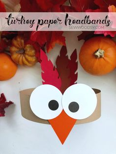 Daycare Crafts, Classroom Crafts, Toddler Crafts, Thanksgiving Crafts For Kids, Holiday Crafts, Kids Fall Crafts, Thanksgiving Treats, Thanksgiving Turkey, Headband Crafts