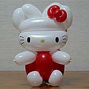 Hello Kitty em balões www.partyland.pt