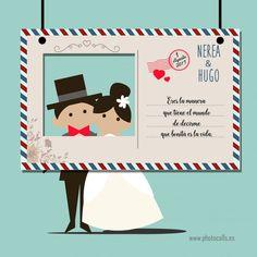 Marcos Polaroid Boda