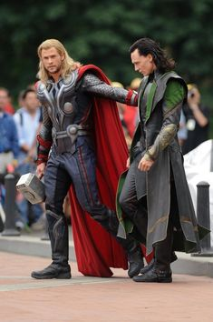 The Avengers || Thor,Loki