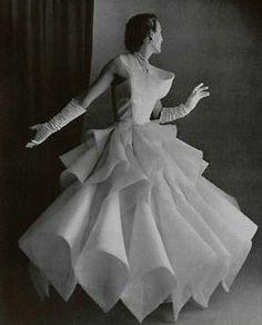 Lanvin-Castillo dress 1951.
