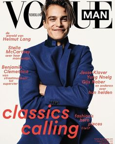 It's here! Our brand new @VogueMan_nl fall issue! Celebrating the heroes of our time: from artist @BenjaminClementine to designer @RushemyBotter Dutch kickbox talent @Tyjani.Beztati politician @JesseKlaver actor @GijsNaber and many more! And of course covering the best of men's fall fashion! Watch this space for more big reveals on Thursday eveningPre-order your issue now via Vogue.nl/shop and find it in stores this Thursday September 21st! #VogueMan Photography @demarcdegroot styling…