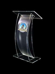 Arc Lectern Frost