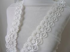 Off White/Black Venice Lace Trim, Scalloped Hollowed Out Floral Lace, Wedding Dress Lace For Party Decoration, Sewing Supplies Cotton Crochet, Crochet Lace, Diy Wedding, Lace Wedding, Wedding Dress, White Lace, Off White, Couture, Floral Lace