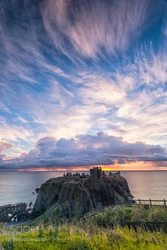 Dunnottar Castle at Dawn by wdonaldson