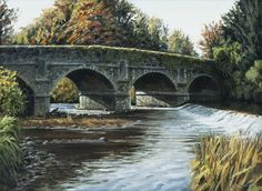 Castlecomer Bridge October by Eugene Conway