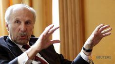 ECB's Nowotny says negative rates necessary to avoid deflation.(April 23rd 2016)