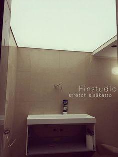 Finstudion modernit stretch sisäkatto. #sisäkatto #sisäkatot #stretchsisäkatto #finstudio #finland #design #valokatto #espoo #helsinki #sisustus #alakatto #modern #led #valaistus #stretchceilings