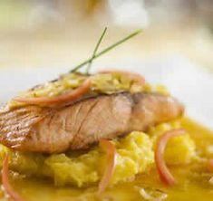 fondue poireaux saumon cookeo