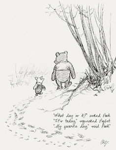 "It is called the ""Wu Wei"" is  paradoxical, ""Action of non-action."" Wu wei refers to the cultivation of a state of being in which our actions are quite effortlessly like Pooh...  ""While Eeyore frets ...   ... and Piglet hesitates  ... and Rabbit calculates   ... and Owl pontificates  ...Pooh just is."
