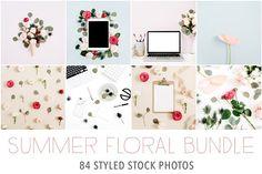 94% OFF! Summer Floral Bundle @creativework247