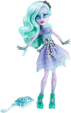 Amazon.com: Monster High Haunted Getting Ghostly Twyla Doll: Toys & Games
