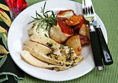chicken stuffed with ricotta or home made cheese!