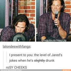 (Slightly) Drunk Jared