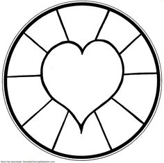 Mandala Coloring Pages Printable. Collection of Mandala coloring pages. You can find mandala images to color, from easy to hard. Valentine Coloring Pages, Heart Coloring Pages, Flower Coloring Pages, Coloring Pages To Print, Free Printable Coloring Pages, Free Coloring Pages, Simple Coloring Pages, Coloring Books, Abstract Coloring Pages