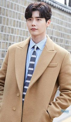 """I'm sorry for saving so many pictures of this beautiful man here but it's called """"Just random stuff"""" which means you can find anything here. I just love """"While you were sleeping"""" so much and Jung Jae Chan is my favorite character! Lee Jong Suk Cute, Lee Jung Suk, Asian Actors, Korean Actors, Lee Jong Suk Wallpaper, Kang Chul, Yoo Seung Ho, Suwon, Kim Woo Bin"""