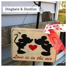 Disney Valentines day sign