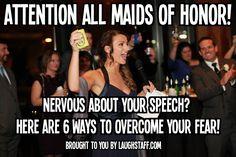 fear of public speaking, maid of honor speech, maid of honor duties, wedding toast, wedding speech, how to write a wedding speech, how to write a wedding toast