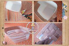 cestas de pote sorvete - Pesquisa Google