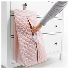 US – Furniture and Home Furnishings NANIG Diaper stacker, light pink – light pink – IKEA - Newborn Diaper Change Baby Bottle Organization, Room Organization, Baby Room Design, Baby Room Decor, Ikea Quilt, Best Baby Bottles, Diy Bebe, Baby Shawer, Baby Sewing Projects