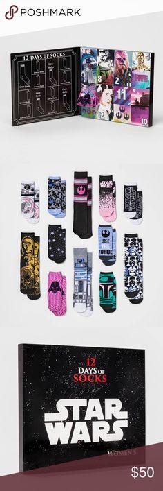 Target Star Wars 12 Days of Socks SOLD OUT EVERYWHERE Women's Accessories Hosiery & Socks