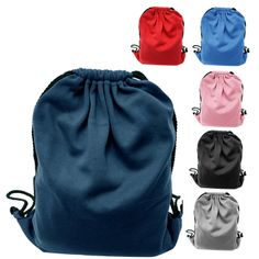 Beach Shake Sand Black /& White Denier Nylon Drawstring Style Gym Sling Tote Bag with Zippered Pocket