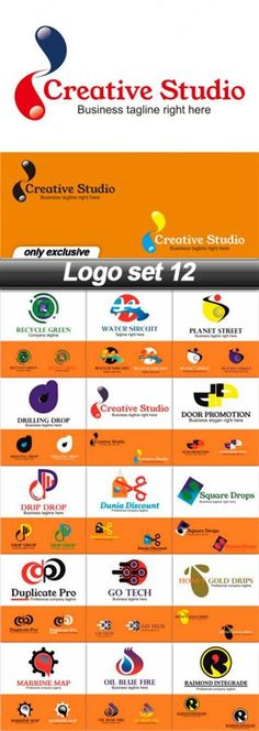 Download Free Vector Logo set 12 - 15 EPS
