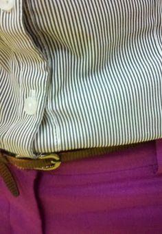 purple pants and stripes Trendy Mens Fashion, Men's Fashion, Mean Women, Simply Fashion, Dapper Dan, Purple Pants, Cool Style, Men's Style, Mens Fall