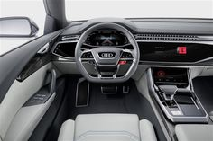 Ultimate travel for four? The Audi #Q8 concept unveiled | #Parkers  Flagship #Audi SUV concept revealed | Wider than #Q7 but shorter and lower | Plug-in hybrid confirmed, production ready for 2018