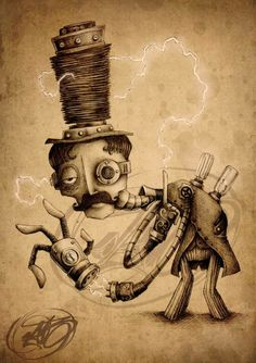 Steampunk Tendencies | Paride Bertolin #steampunk #Teslapunk