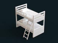 1:10 Scale Model - Bunk Bed 01 by sidnaique