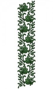 Simple Bunch Of Leaves Lace Border Embroidery Design 23692 Border Embroidery Designs, Lace Embroidery, Machine Embroidery Designs, Lace Border, Border Design, Simple Designs, Plant Leaves, Invitations, Stitch