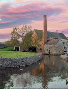 Lower Slaughter Mill, Cotswolds, England
