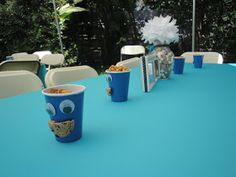 As promised (from my previous post in June) below you will find pictures of Dylan's Cookie Monster Birthday Bash! Enjoy!    Dylan's giant Co...
