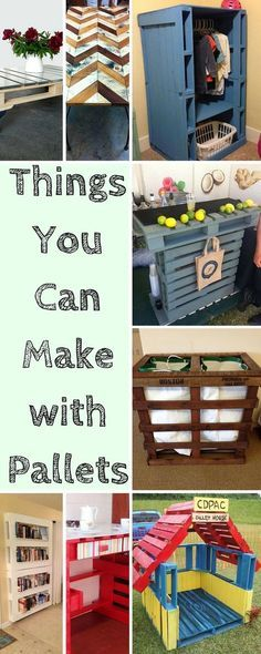 Top 10 Things You Can Make with #Pallets - DIY Recycled