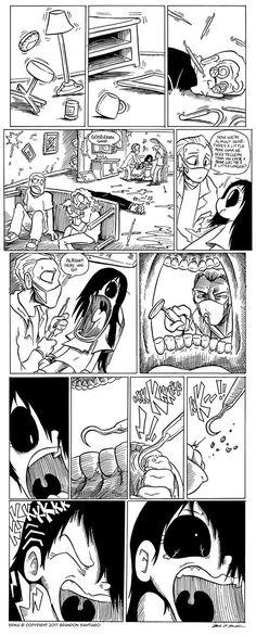 Erma :: Erma- The Dentist Part 8 Cartoon As Anime, Cartoon Clip, Anime Comics, Cute Comics, Funny Comics, Erma Comic, Dentist Humor, Comics Story, Short Comics