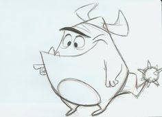 Sandro Cleuzo character design