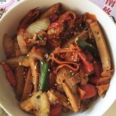 16 Deliciosas recetas de comida china que puedes hacer en casa I Love Food, Good Food, Yummy Food, Healthy Vegetables, Chicken And Vegetables, Vegetable Chop Suey, Asian Recipes, Healthy Recipes, Ethnic Recipes