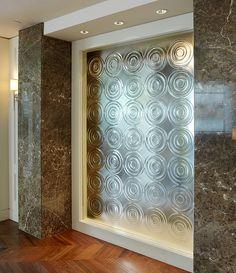 装飾ガラス「ベネチアン」サーペンタインD施工事例