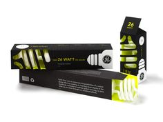GE CFL Bulbs (Student Work) | Packaging of the World: Creative Package Design Archive and Gallery