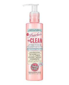 Soap & Glory™ Peaches And Clean™ Wash-off Deep Cleansing Milk, £7