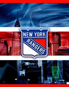 A personal favorite from my Etsy shop https://www.etsy.com/listing/261999873/new-york-rangers-poster-new-york-rangers