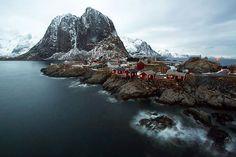 Hamnøy the oldest fishing village in the stunning Lofoten archipelago, Norway! #hamnøy #lofoten #lofotenislands #norway #norge #visitnorway #discovernorway #nakedplanet #mountains #sea #northsea #travel #traveltheworld #travelstagram #travelphotography #longexposure #longexposurephotography #exploringtheglobe #fishingvillage #village #worlderlust #coastline #beautifulworld #beautifuldestinations #bestplacestogo #fjord